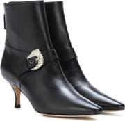 Saloon Leather Ankle Boots