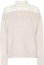 Pull Strong Sensuality Wool And Cashmere Sweater