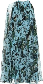 Brigitta Floral Silk Voile Dress