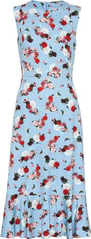 Exclusive To Mytheresa Grazia Floral Ponte Dress