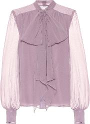Lucienne Silk Georgette Blouse