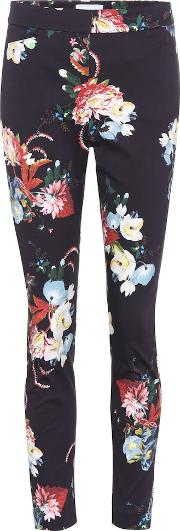 Sidney Floral Printed Cotton Trousers