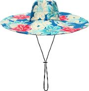 Floral Printed Cotton Hat
