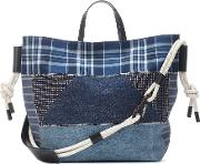Patchwork Denim Tote