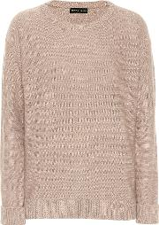 Sequinned Wool Blend Sweater