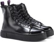 Kibo Montana Leather Ankle Boots