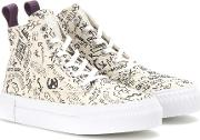 Odyssey Canvas High Top Sneakers