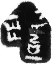 Fur Stole With Buckle