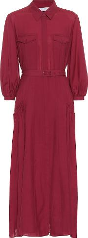 Woodward Wool And Cashmere Dress