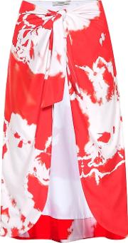 Exclusive To Mytheresa.com Tie Dye Beach Skirt