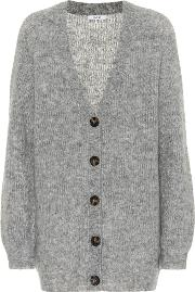 Wool And Mohair Blend Cardigan