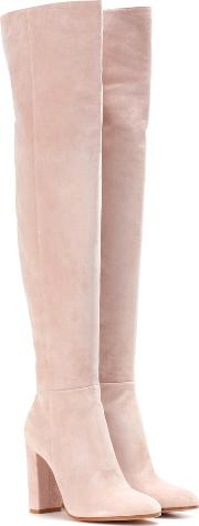 Exclusive To Mytheresa.com Suede Over The Knee Boots
