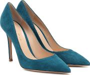 Gianvito 105 Suede Pumps