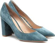 Piper 85 Suede Pumps