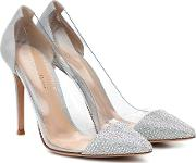 Plexi 105 Embellished Pumps