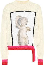 Intarsia Cotton Sweater