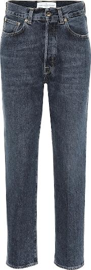 Judy High Rise Straight Jeans