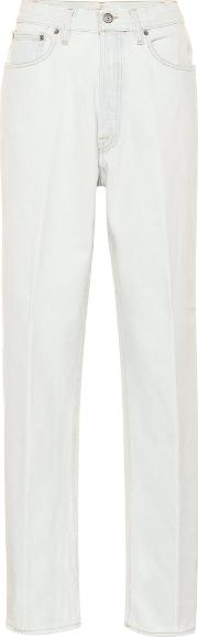 Shannen High Rise Straight Jeans
