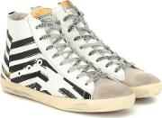 Francy High Top Leather Sneakers