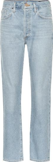 The Benefit High Rise Straight Jeans