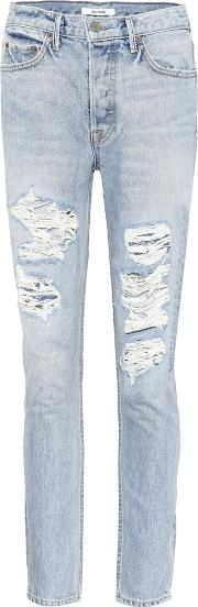 Karolina Distressed Jeans