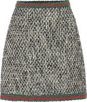 A Line Tweed Skirt