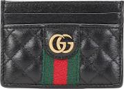 Double G Leather Card Holder