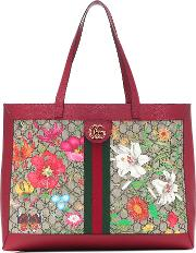 Exclusive To Mytheresa Ophidia Gg Flora Tote