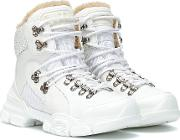 Flashtrek High Top Leather Sneakers