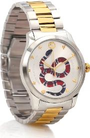 G Timeless 38mm Stainless Steel Watch