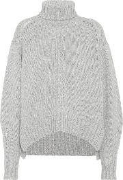 Dasty Wool Blend Turtleneck Sweater