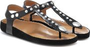 Enore Leather Sandals