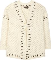 Gent Wool And Cotton Blend Cardigan