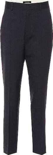 Hero Striped Stretch Wool Pants