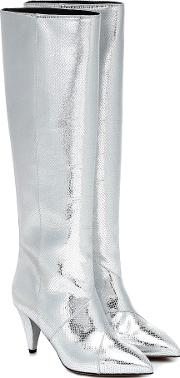 Laomi Leather Knee High Boots