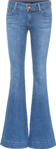 Lovestory Low Rise Flared Jeans
