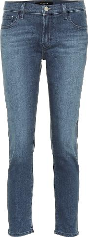 Sadey Cropped Mid Rise Jeans
