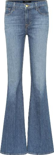 Valentina High Rise Flared Jeans