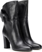Malene 85 Leather Ankle Boots