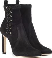 Mallory 100 Suede Ankle Boots