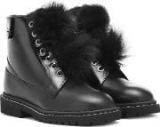The Voyager Snow Flat Ankle Boots