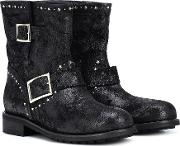 Youth Suede Ankle Boots