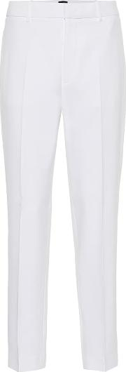 Coman Straight Crepe Pants