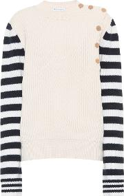 Wool And Cotton Blend Sweater