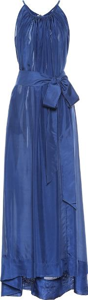 Genevieve Silk Maxi Dress