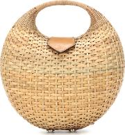 Elena Wicker Basket Bag
