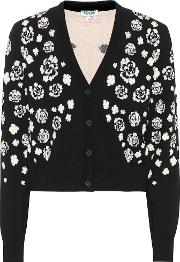 Floral Cotton Blend Cardigan