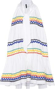 Ric Rac Baby Doll Cotton Mini Dress