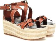 Gate Leather Espadrilles