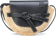 Gate Mini Raffia Crossbody Bag